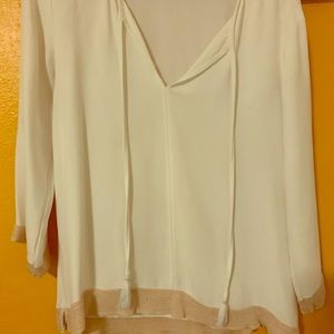 Off white blouse